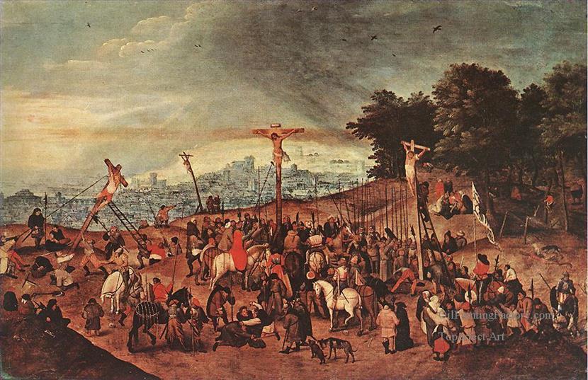0-Crucifixion-peasant-genre-Pieter-Brueghel-the-Younger
