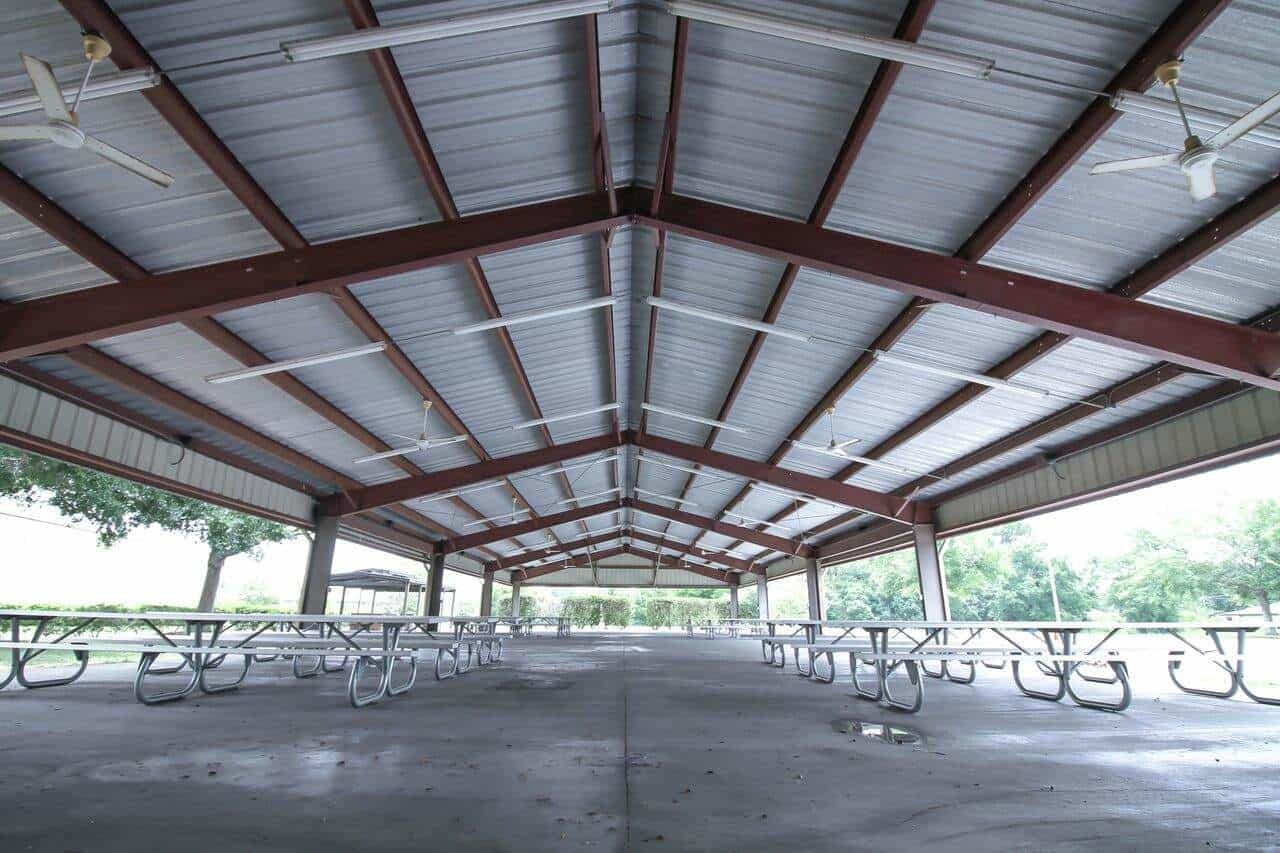 One of the best places on the property is the outdoor picnic pavilion, with restrooms and seating for 750. Perfect for the way we do ministry and life together.